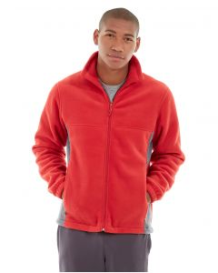 Orion Two-Tone Fitted Jacket-XS-Red