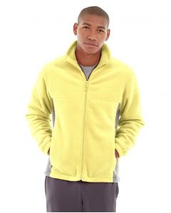 Orion Two-Tone Fitted Jacket-M-Yellow