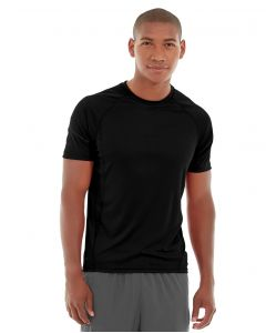 Atomic Endurance Running Tee (Crew-Neck)-XS-Black