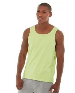 Tiberius Gym Tank-M-Yellow