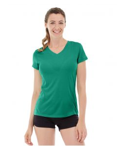 Gabrielle Micro Sleeve Top-XS-Green
