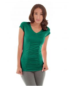 Iris Workout Top-XS-Green