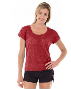 Layla Tee-XS-Red