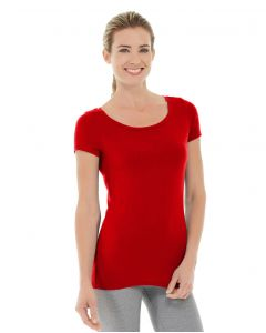 Tiffany Fitness Tee-XS-Red